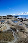 Sandstone Beach on Hornby Island