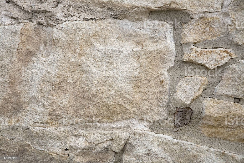 Sandstone Blocks Background royalty-free stock photo