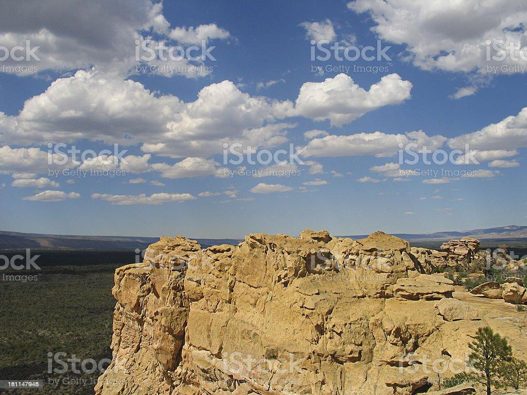 Sandstone Bluffs royalty-free stock photo