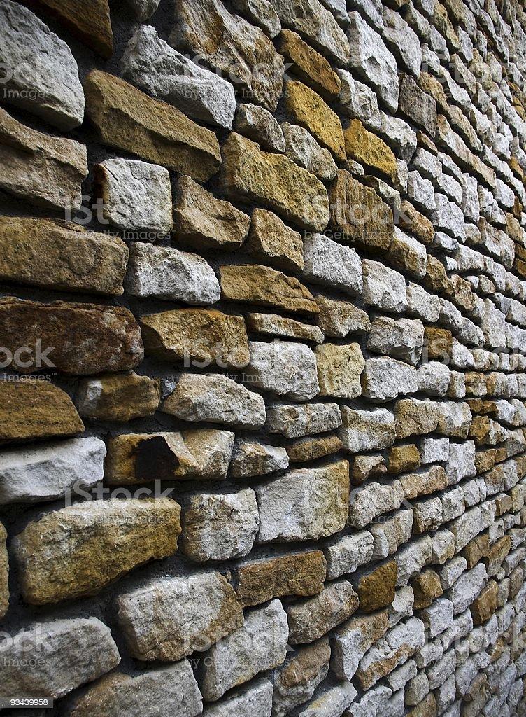 Sandstone brick wall background royalty-free stock photo
