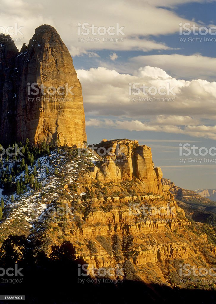 Sandstone Canyon royalty-free stock photo