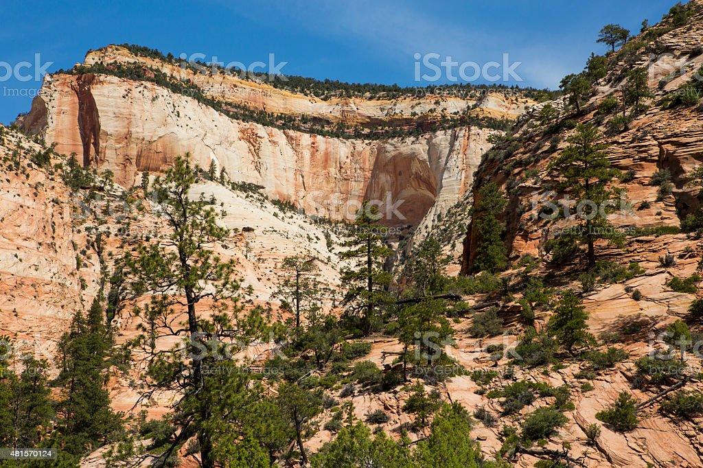 Sandstone Cave stock photo