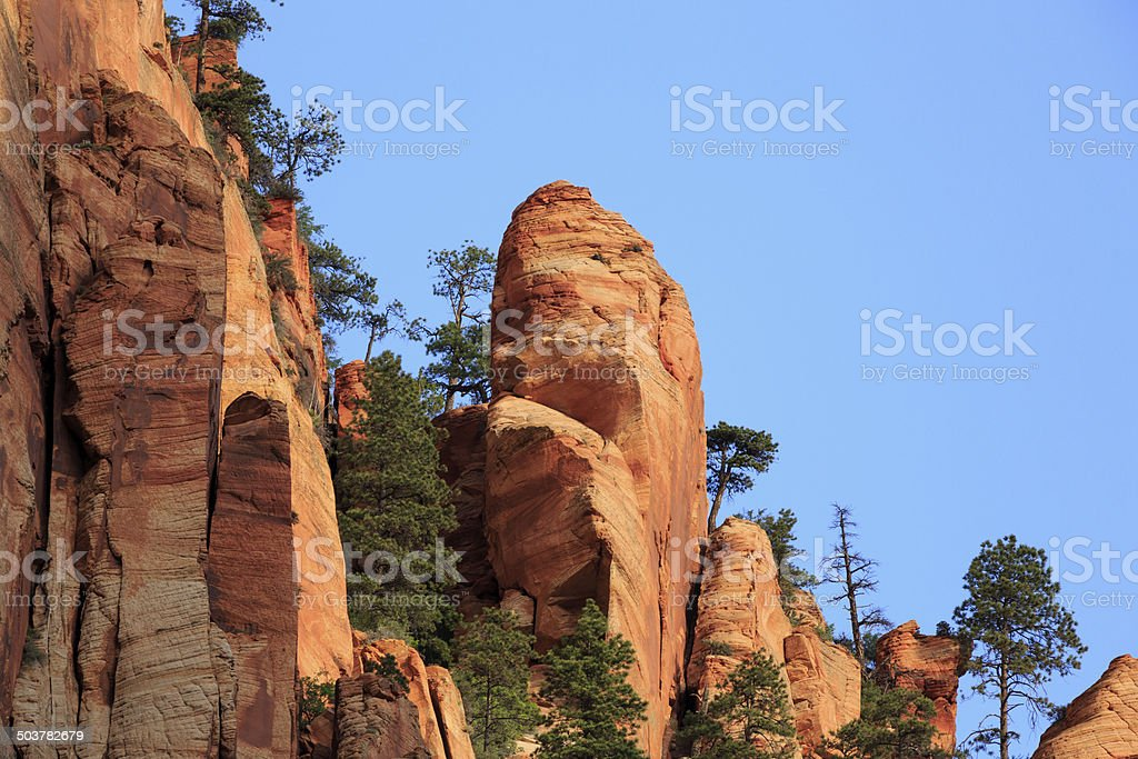 Sandstone Cliffs royalty-free stock photo