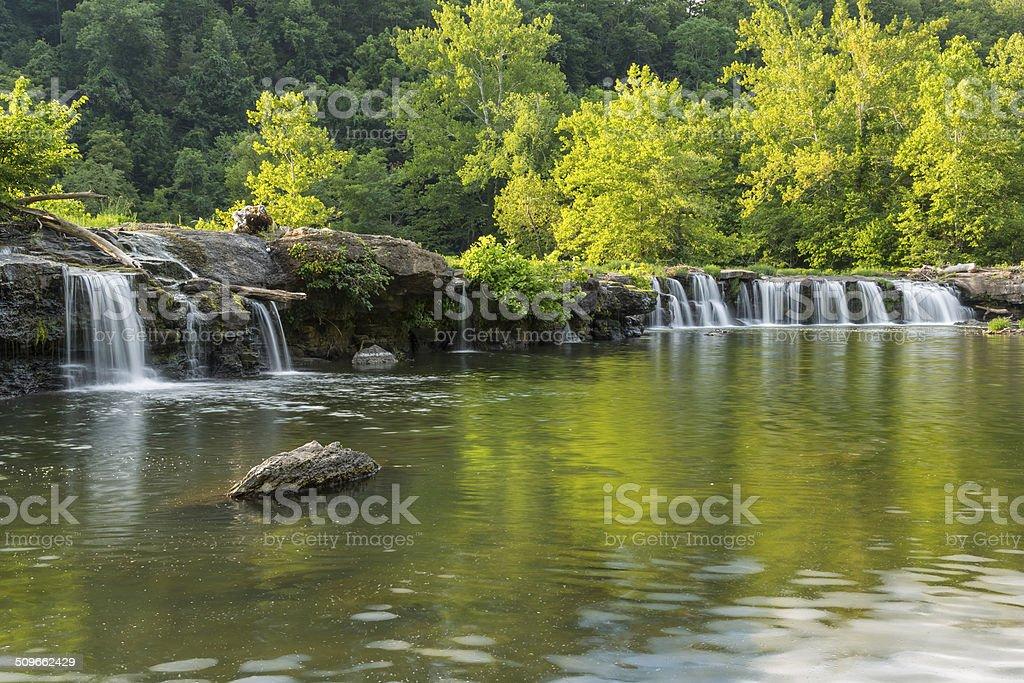Sandstone Falls stock photo