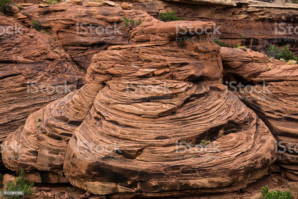Sandstone Layers stock photo