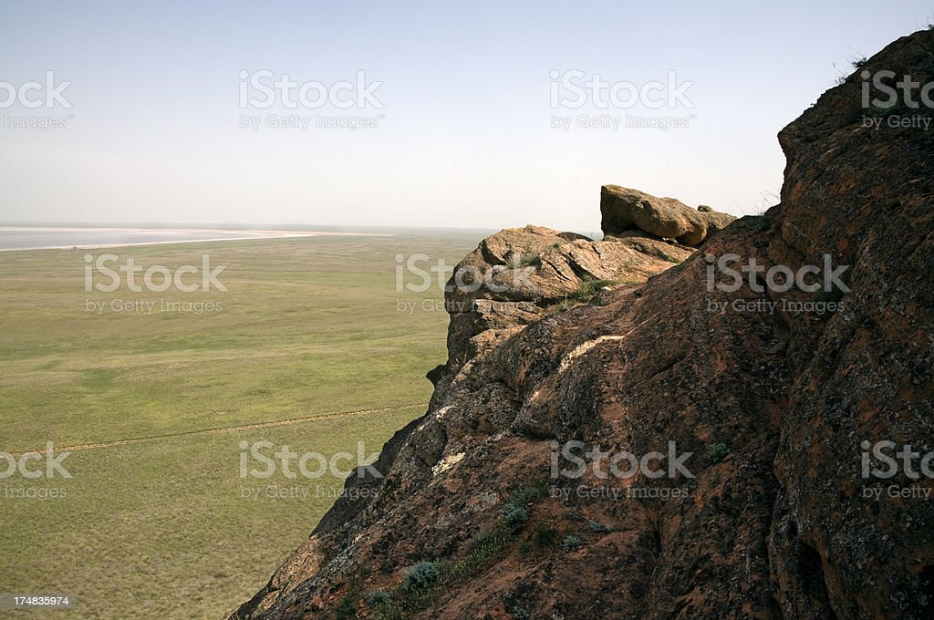 Sandstone. royalty-free stock photo