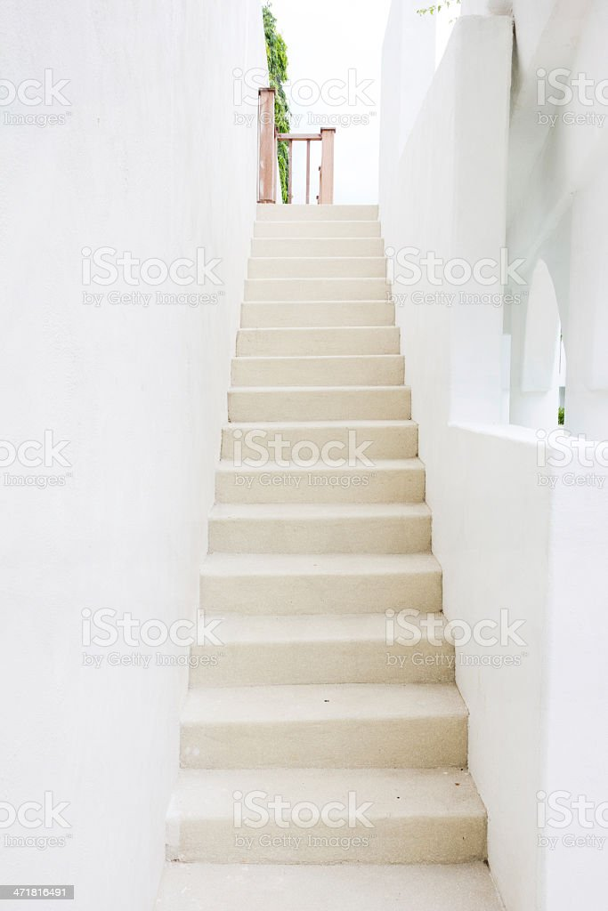 sandstone stairs royalty-free stock photo