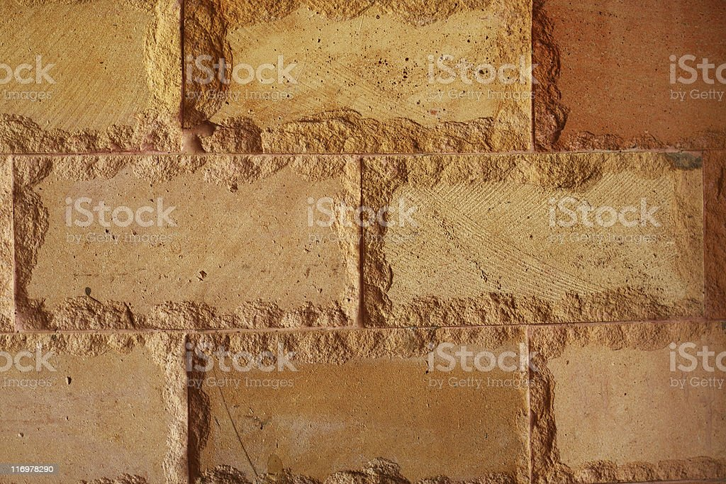 Sandstone tiles stock photo