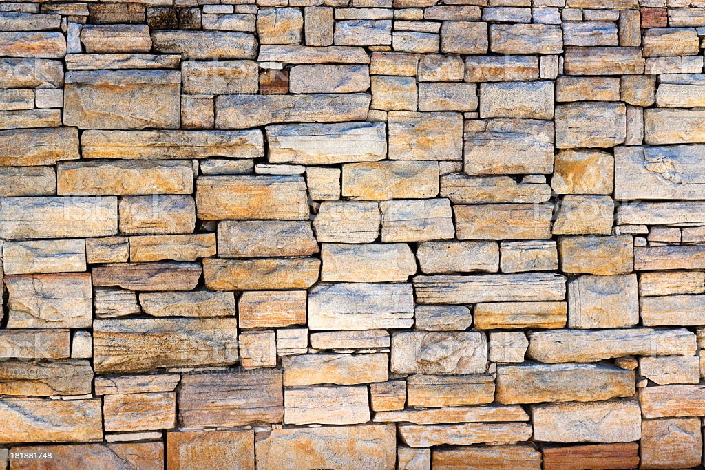 Sandstone wall background, copy space royalty-free stock photo