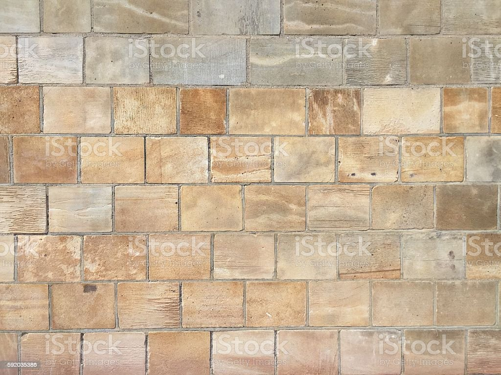 sandstone wall texture stock photo