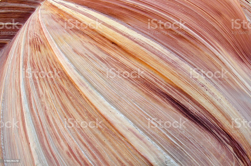 Sandstone Waves royalty-free stock photo