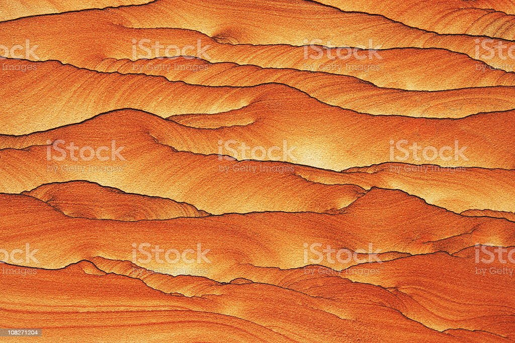 Sandstone Weathered Rock Canyon Pattern royalty-free stock photo