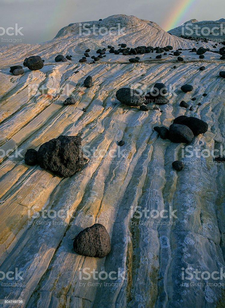Sandstone wonderland stock photo