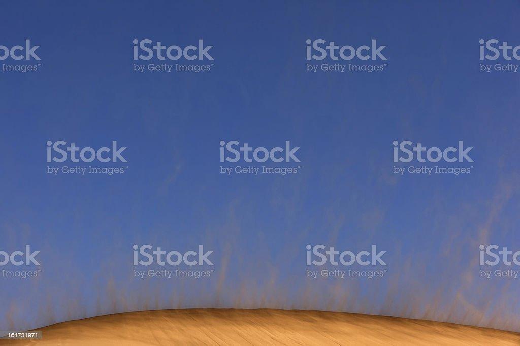 Sandstorm royalty-free stock photo