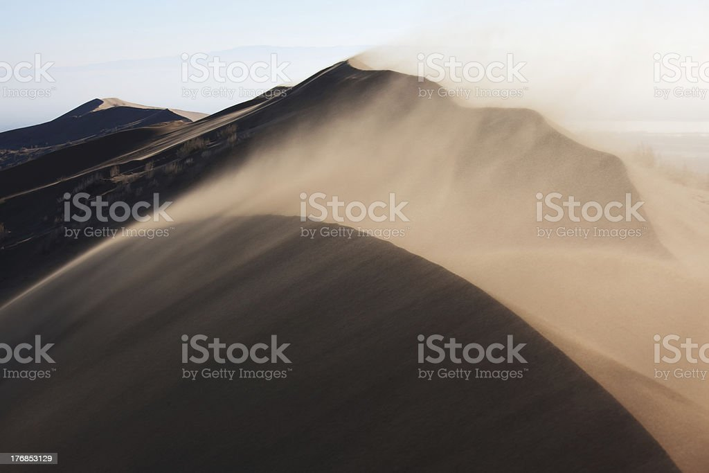 Sandstorm stock photo