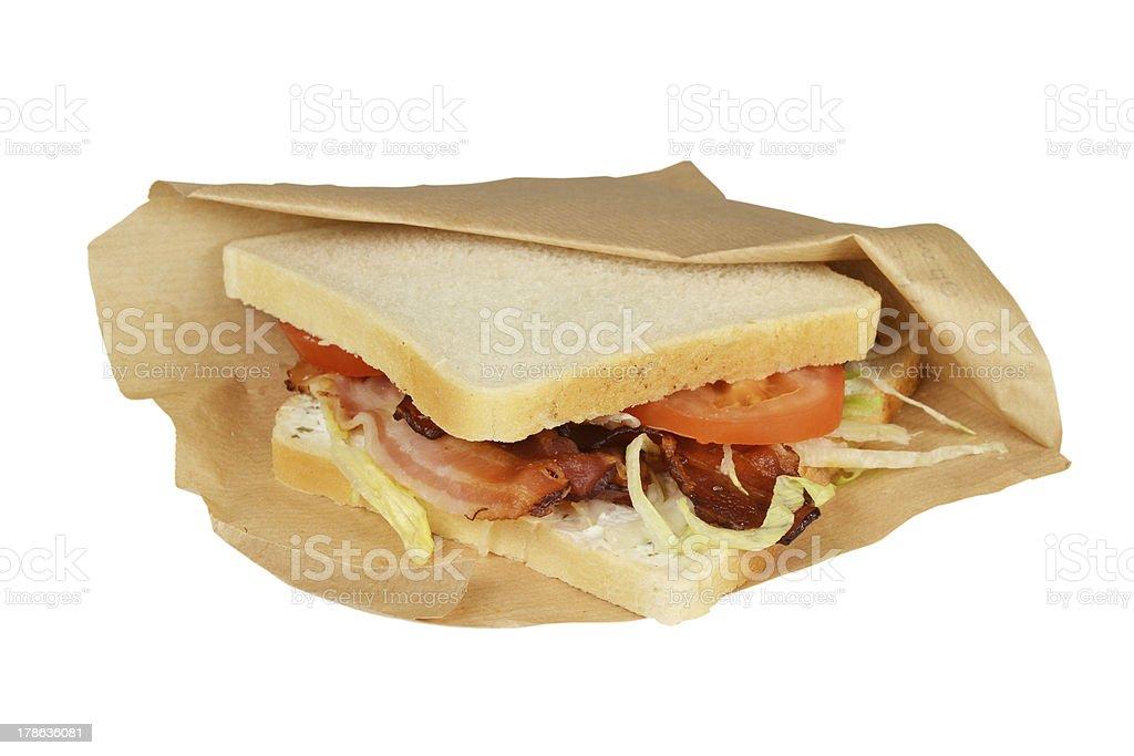 サンドイッチ、BLT (ベーコンます。 ロイヤリティフリーストックフォト