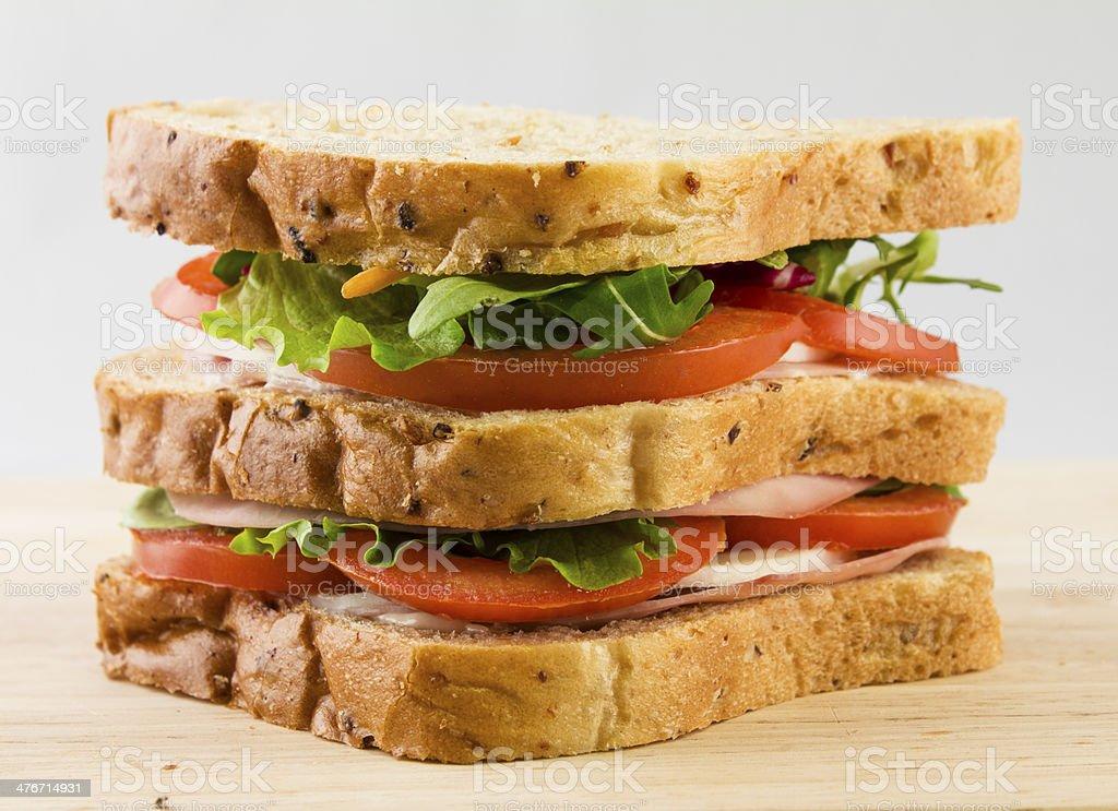 sandwich bread royalty-free stock photo