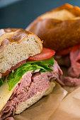 Sandwich close up