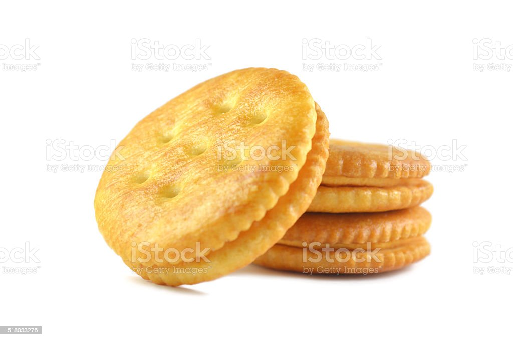 Sandwich cracker stock photo