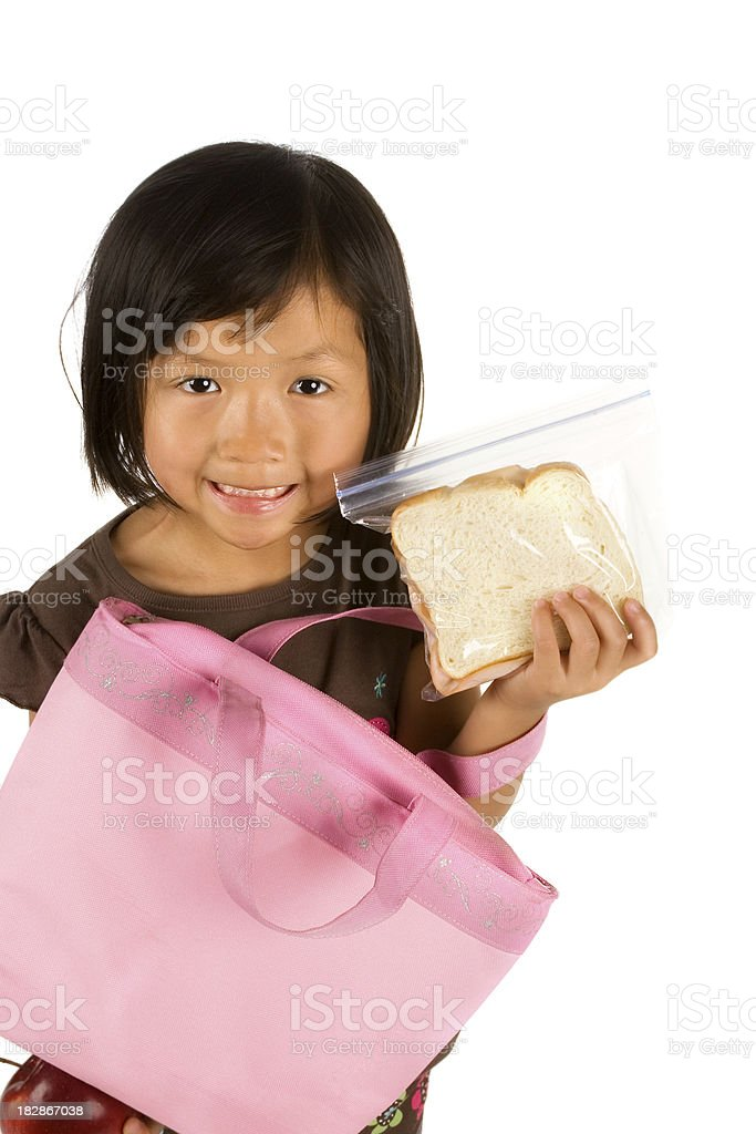 Sandwich for lunch royalty-free stock photo