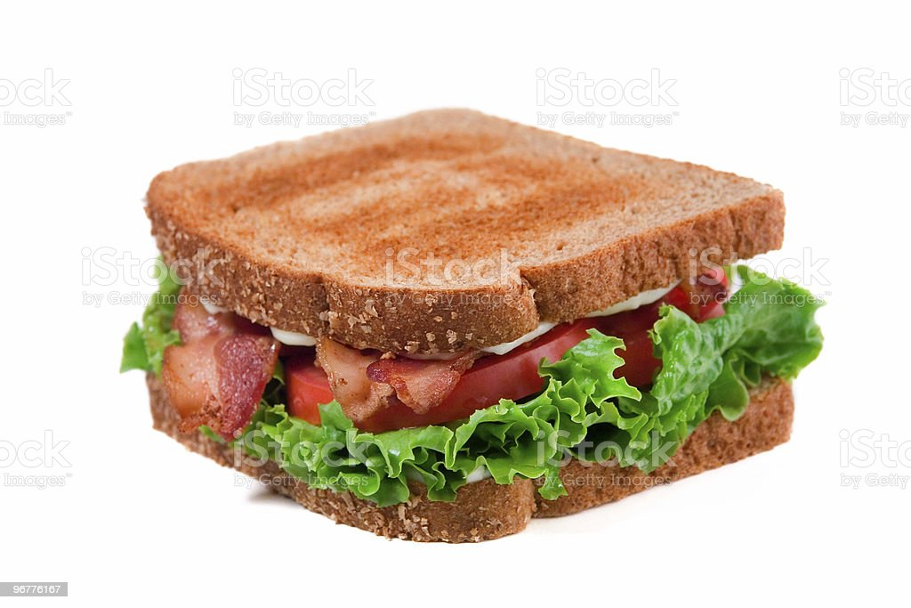 BLT Sandwich royalty-free stock photo