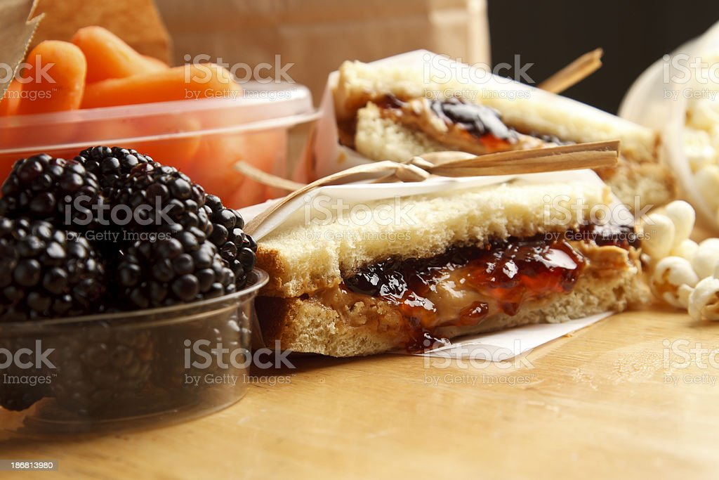 Sandwich Series stock photo