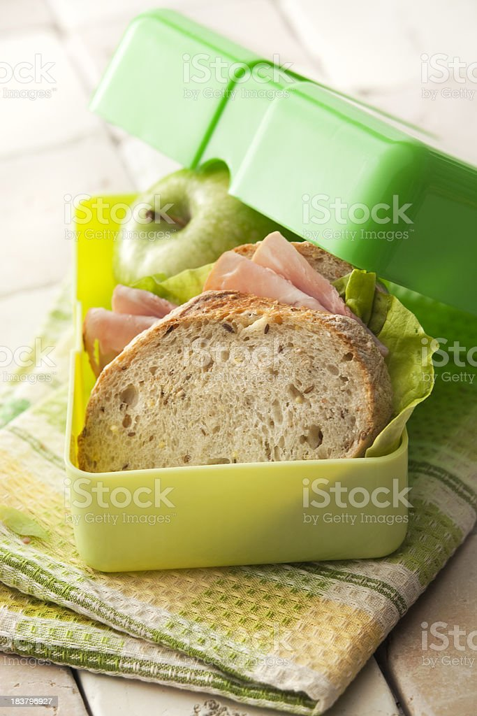 Sandwich Stills: Lunchbox stock photo