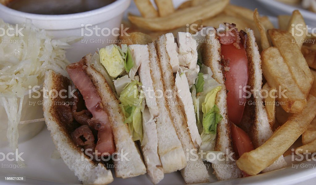 Sandwich time! royalty-free stock photo