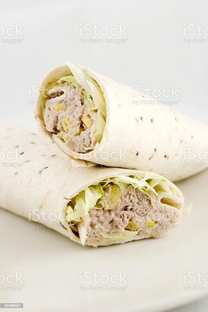 Sandwich Wraps royalty-free stock photo