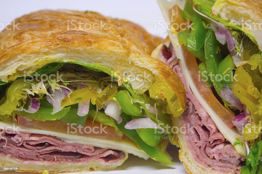 Sandwiches 1 royalty-free stock photo