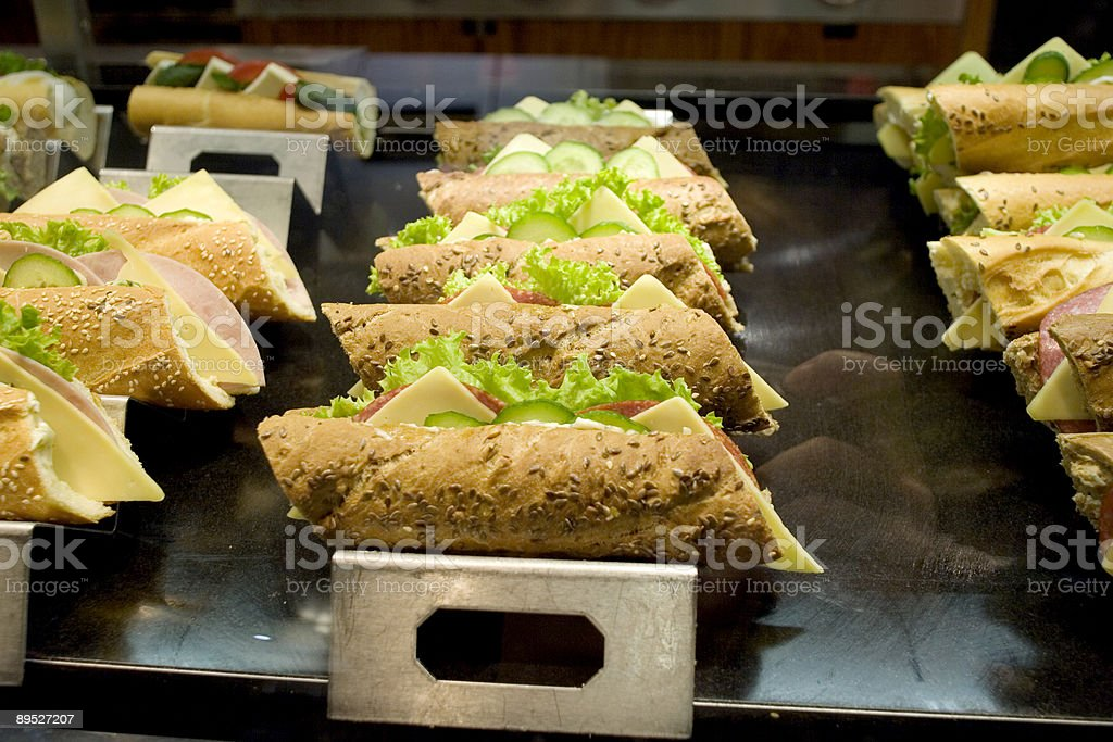 Sandwiches on the Go royalty-free stock photo
