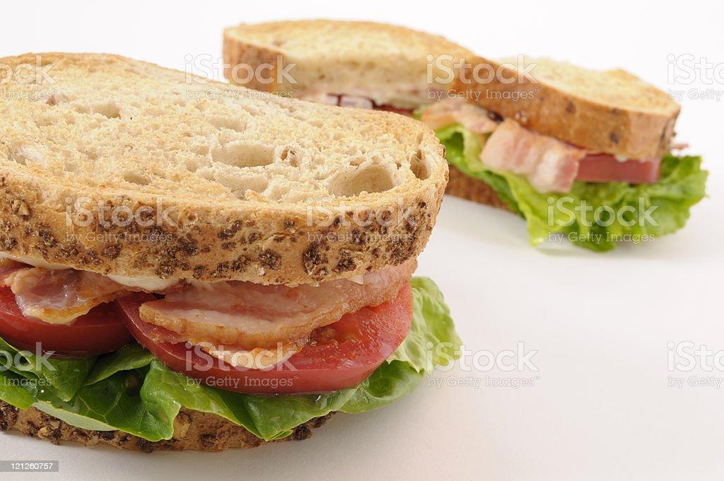 BLT sandwiches royalty-free stock photo