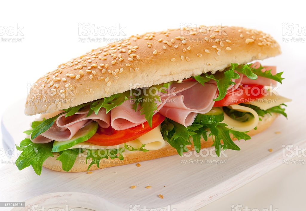 sandwiches royalty-free stock photo