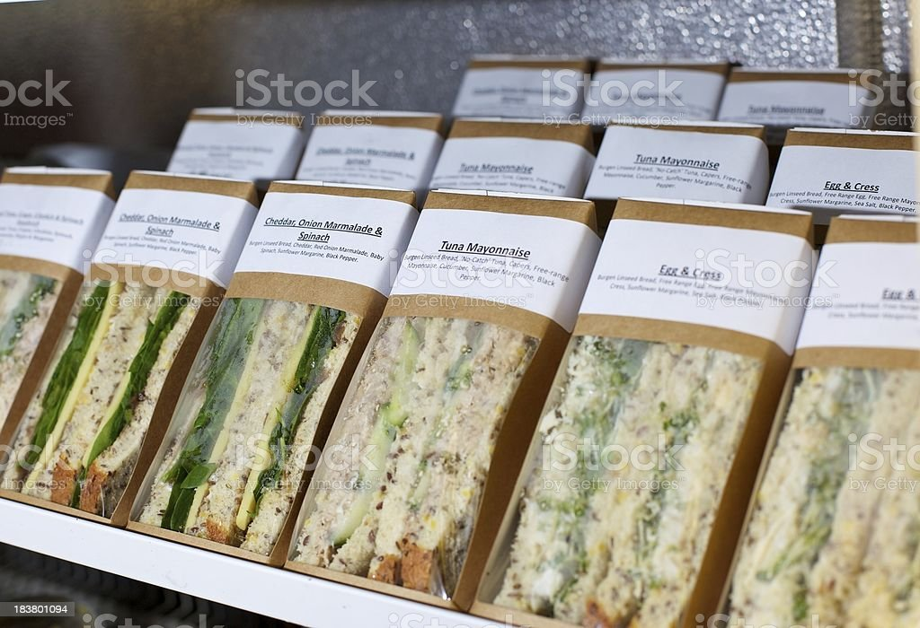 Sandwiches... royalty-free stock photo