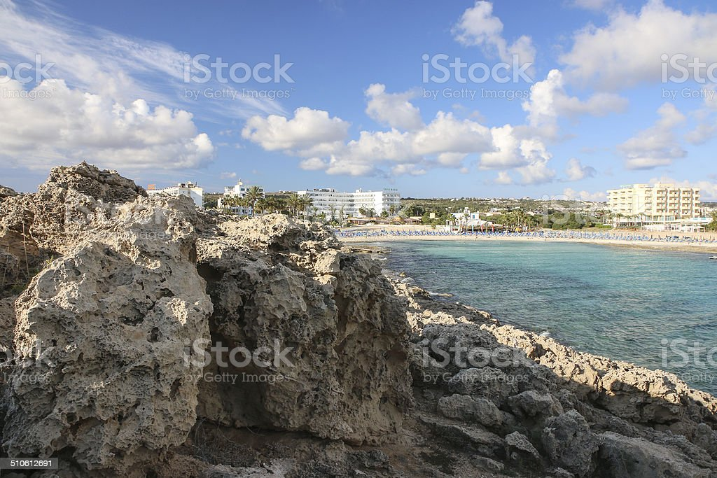 Sandy Bay beach royalty-free stock photo