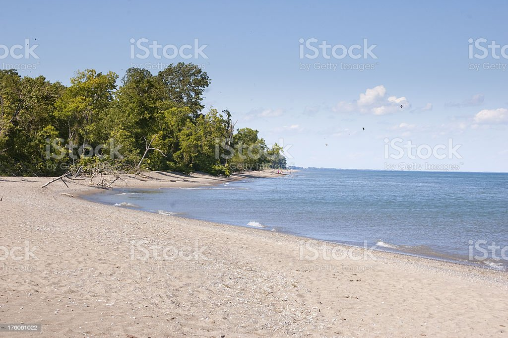 Sandy Beach Horizontal stock photo