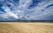 Sandy beach in Jurmala