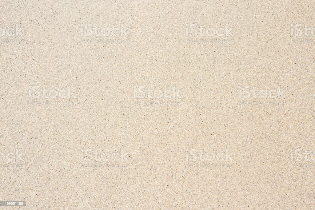 Sandy beach stock photo