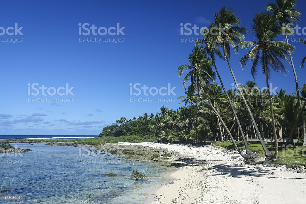 sandy beach siargao island cloud 9 philippines royalty-free stock photo