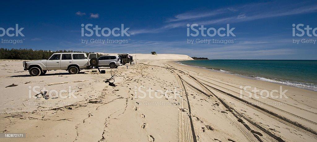 Sandy Cape royalty-free stock photo