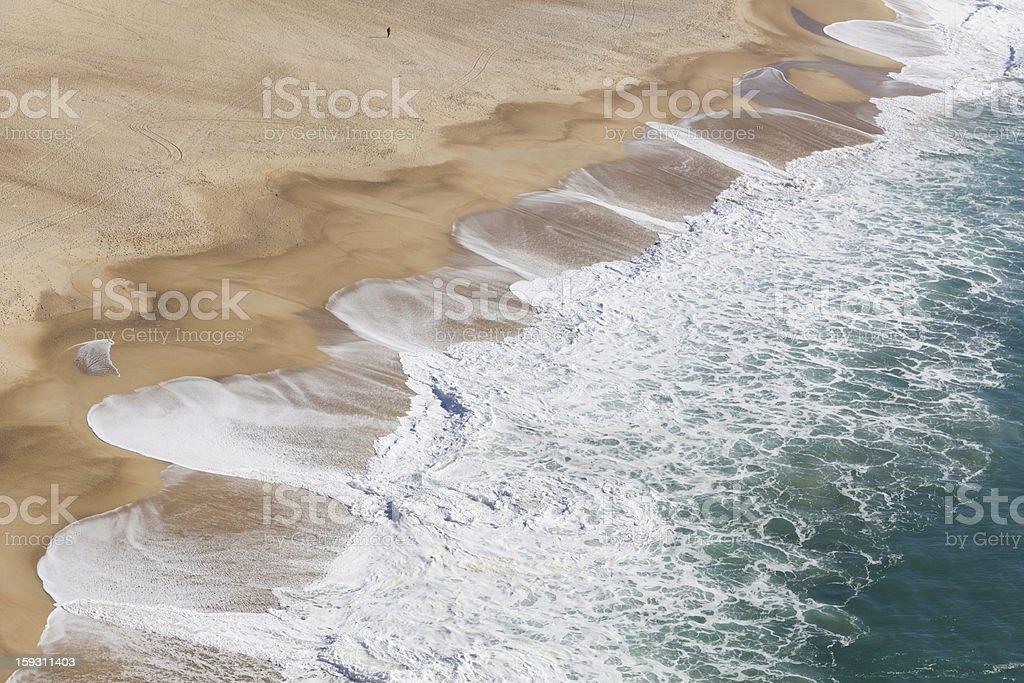 Sandy Coastline royalty-free stock photo