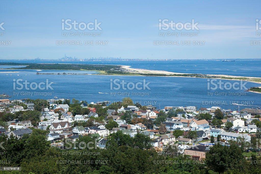 Sandy Hook View stock photo