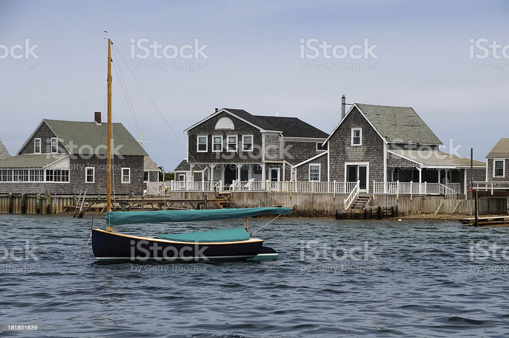 Sandy Neck Cottages royalty-free stock photo