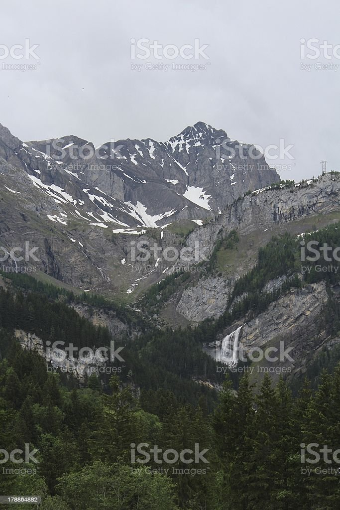 Sanetschpass, traditional trading route royalty-free stock photo