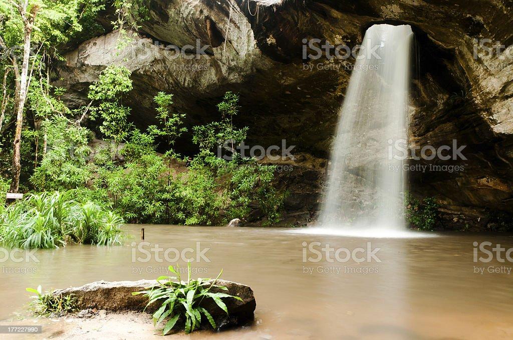 Sang Chan Waterfall stock photo