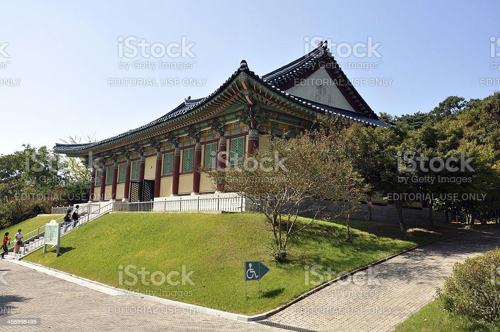 Sangchunjae, South Korea royalty-free stock photo