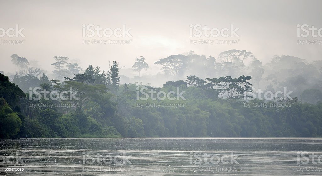 Sangha River. stock photo