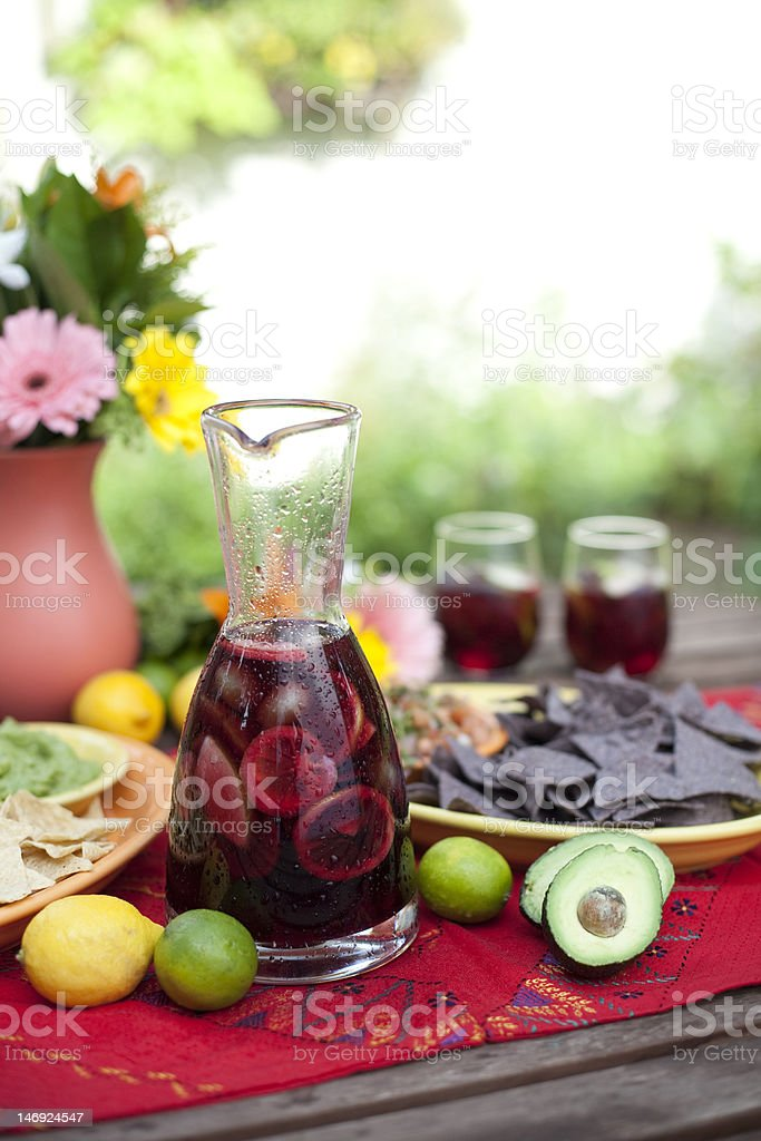 Sangria royalty-free stock photo
