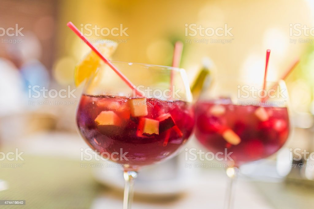 Sangria stock photo