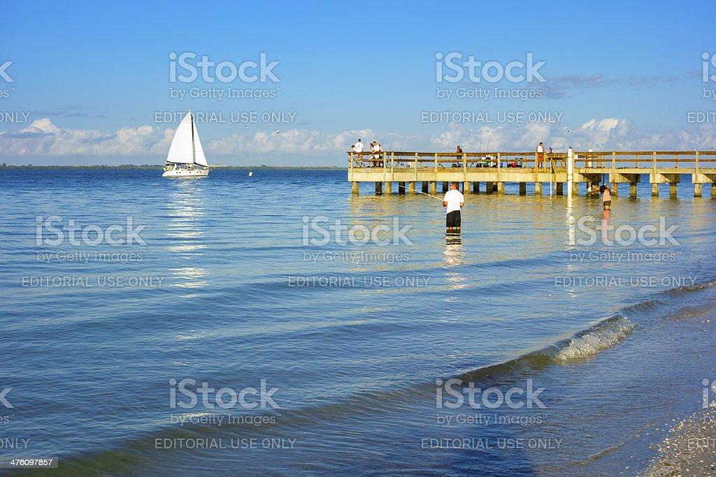 Sanibel Island, Florida stock photo